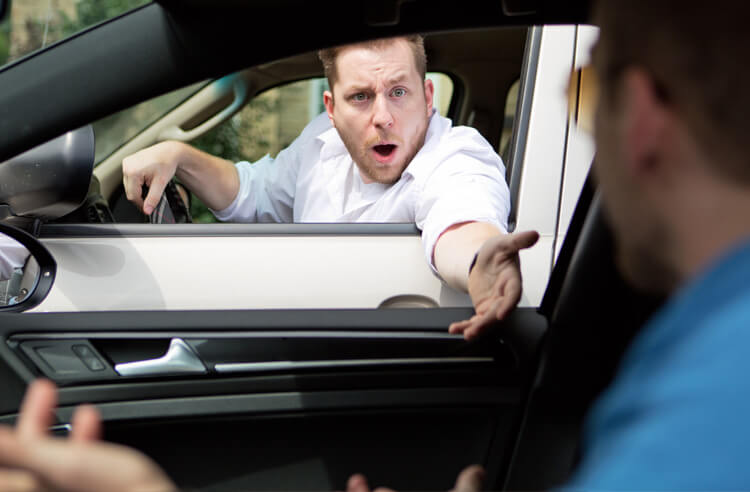 How to Deal with Road Rage article header