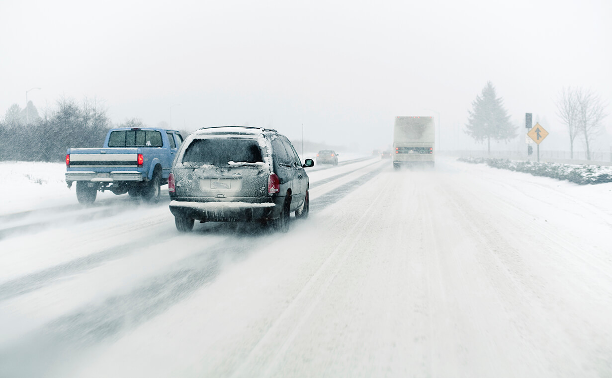 Tips to Drive Safely on Icy Roads article header